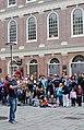 Street performer, Quincy Market (7208033956).jpg