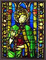 Su disegno di alesso baldovinetti, santo papa entro un tabernacolo.JPG