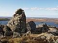 Summit,cairn, Carn Bad na h-Achlaise - geograph.org.uk - 752698.jpg