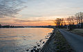 Sunset over Oestrich, as seen from Northeast 20150307 1.jpg