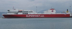Superfast Ferries - Image: Superfast I