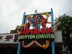 Superman Krypton Coaster entrance.jpg