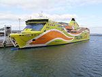 Superstar departing Port of Tallinn 5 October 2014.JPG
