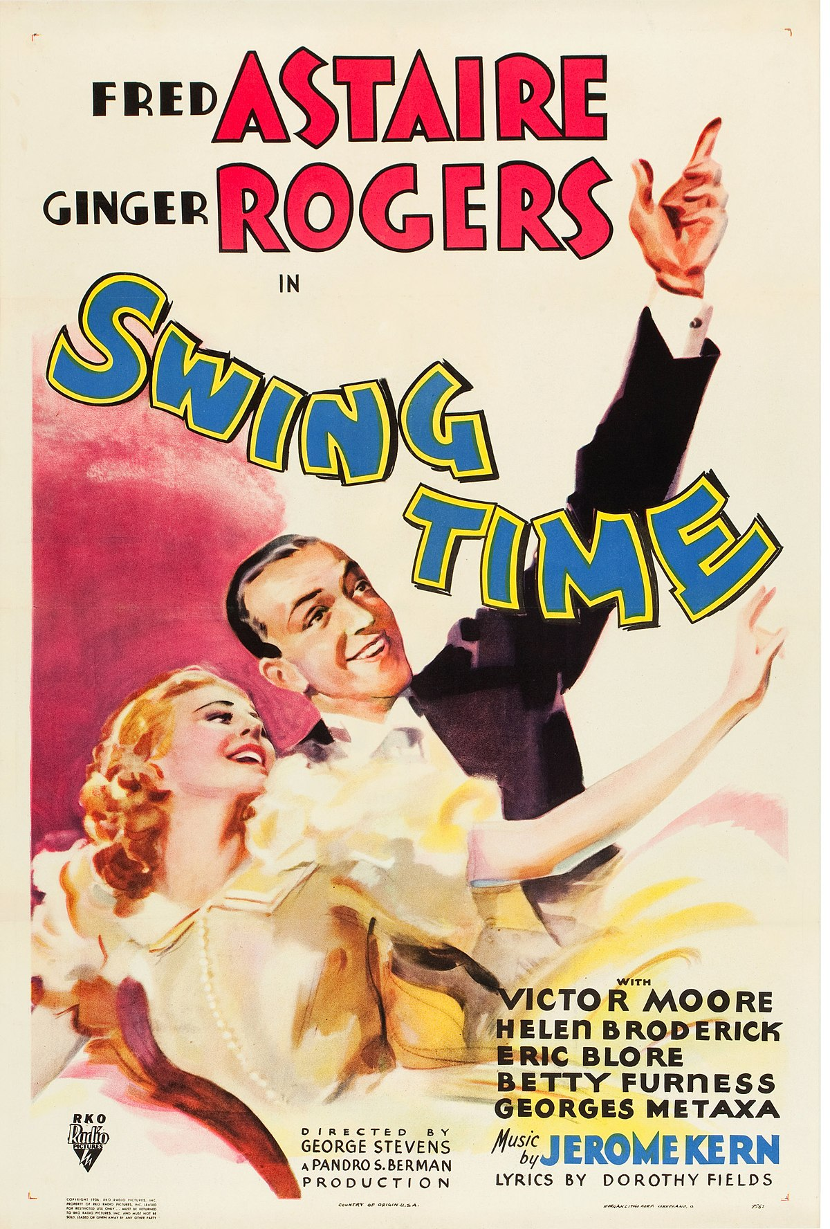 Swing Time Film Wikipedia