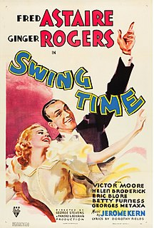 <i>Swing Time</i> (film) 1936 musical film starring Fred Astaire and Ginger Rogers