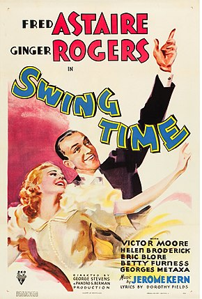 Description de l'image Swing Time (1936 poster).jpg.