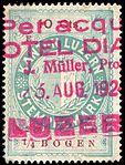 Switzerland Lucerne 1924 revenue 6 10c - 183 - E 5 24.jpg