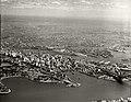 Sydney - Farm Cove, City and Western Suburbs from Mosman Bay - 29 March 1937 (29642264814).jpg