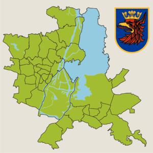 Szczecin administrative division 2010