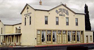 Schieffelin Hall - Image: T Schiefflin Hall