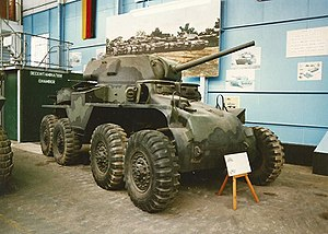 T18 Boarhound - The only surviving T-18 at The Tank Museum, Bovington (1998)