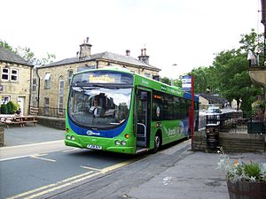 Keighley Bus Company - Brönte Bus in Haworth in 2016