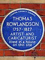 THOMAS ROWLANDSON 1757-1827 ARTIST AND CARICATURIST lived in a house on this site.jpg