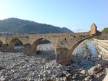Il ponte romano sul torrente Argentina.