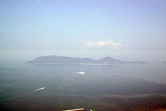 Megijima - Megijima as seen from Takamatsu
