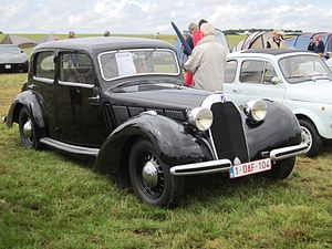 "Talbot Type T4 ""Minor"" - Image: Talbot Lago Minor T4 1937 at Schaffen Diest 2013"