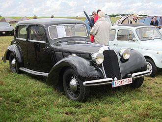 """Talbot Type T4 """"Minor"""" - Image: Talbot Lago Minor T4 1937 at Schaffen Diest 2013"""