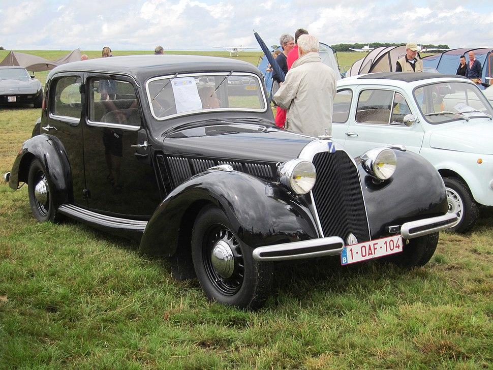 Talbot Lago Minor T4 1937 at Schaffen-Diest 2013