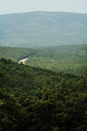 Talimena Scenic Drive - Image: Talimena Scenic Drive mountains