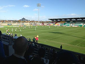 2014 European Cup - Image: Tallaght Stadium Rugby League Ireland vs France