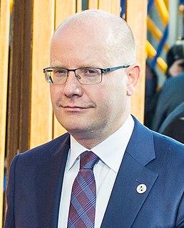 Bohuslav Sobotka Czech former politician