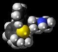 Talsupram molecule spacefill.png