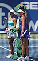 Tamira Paszek, Shahar Peer and the GEICO Gecko (5992081607).jpg