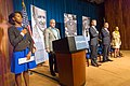 Tanisha Humphrey, Reginald Richards, Eric Fanning, Thomas Perez and Eleanor Holmes Norton, June 2015.jpg