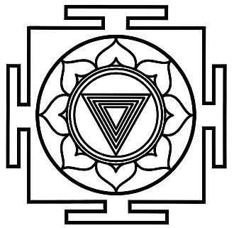 Kama - Image: Tantra Yantra Kali