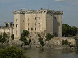 Tarascon Castle on the Rhône River