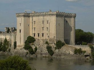 Tarascon - Tarascon Castle on the Rhône River