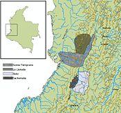 Ubicación geográfica periodo Tardío I (600-1300)