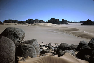 World Network of Biosphere Reserves in the Arab States - Image: Tassili Sahara 74