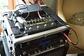 Tech21 Sansamp Bass Driver Deluxe, Sennheiser EW100G2 - EM100 receiver & EK100 transmitter, on Bass Rig (by Simon Doggett).jpg