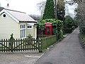 Telephone box on Church Lane, Kingston. - geograph.org.uk - 323320.jpg
