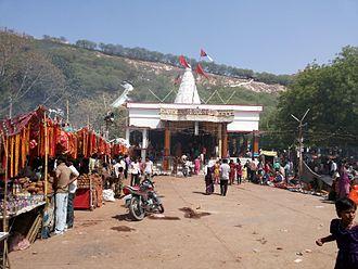 Banda, Uttar Pradesh - Temple at Khatri Pahar