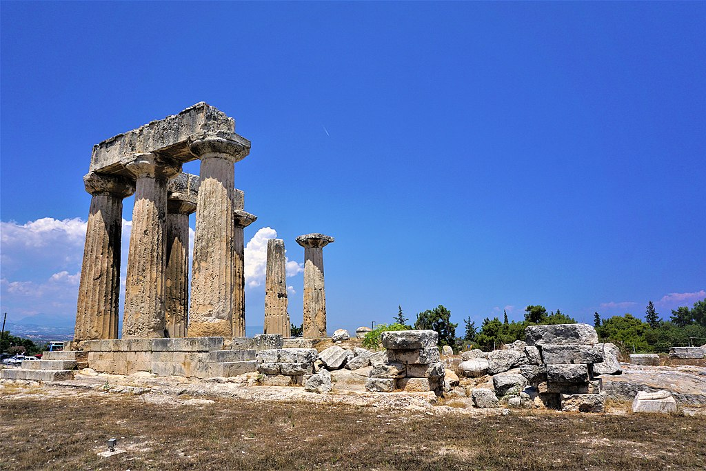 Temple of Apollo, Corinth by Joy of Museums - 2