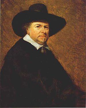 Jan van Goyen - Portrait of Jan von Goyen by Gerard ter Borch