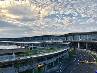 Chongqing Jiangbei International Airport - Image: Terminal 3 of Chongqing Jiangbei Airport