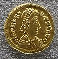 Tesoretto di sovana 001 solido di onorio (402-3 o 405-6), zecca di milano.JPG