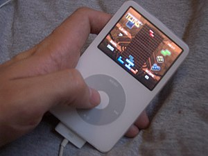 Tetris - A 5th generation iPod featuring Tetris (2006)