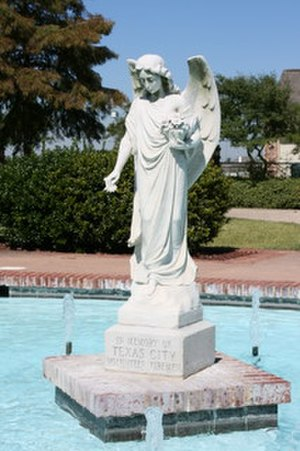 Texas City disaster - Firefighters Memorial