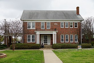 Hunt County, Texas - Heritage House on the campus of Texas A&M University–Commerce