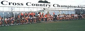 1999 IAAF World Cross Country Championships - The starting point of the race
