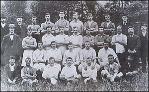 Thames Ironworks F.C. - The 1899 team.