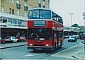 The 281 bus in Hounslow, London, September 1998.jpg