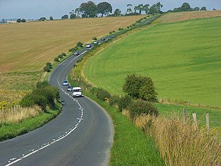 A360 road road in England