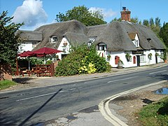 The Barley Mow, Clifton Hampden, Oxfordshire - geograph.org.uk - 1226973.jpg