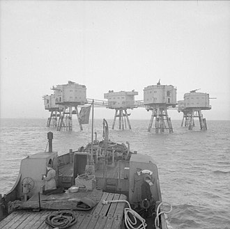 """Maunsell Forts - """"Army"""" style fort"""