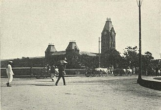 Chennai Central railway station - Chennai Central station, c. 1905
